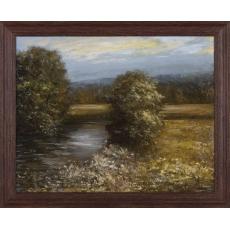 Rieka v lúkach