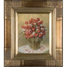 Ruže v košíku