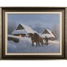 Spomienky na zimu - Osturňanský záprah